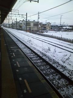雪であります